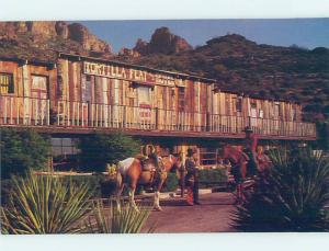 Pre-1980 HOTEL SCENE Tortilla Flat Ghost Town - Phoenix Arizona AZ G9868@