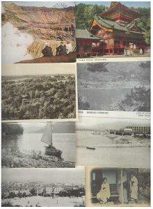 pc238 postcard Japan Mixture EIGHT all MOBSC