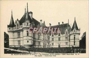 Old Postcard Azay le Rideau Chateau L and L North East Coast