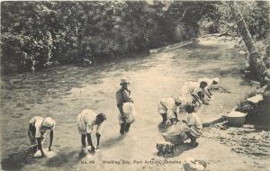 1912 Postmark On #49. Lavadora Day. Puerto Antonio, Jamaica Tarjeta Postal