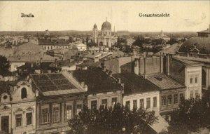 romania, BRǍILA, Partial View (1910s) Postcard