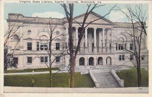 Virginia State Library, Capitol Grounds, Richmond, Virginia, 10-20s