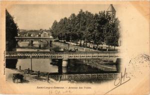 CPA   Saint-Loup-s/-Semouse - Avenue des Ponts    (452332)