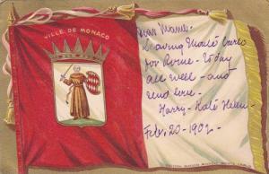Flag , Ville de Monaco , 1902
