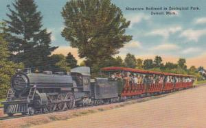 Michigan Detroit Miniature Railroad In Zoological Park