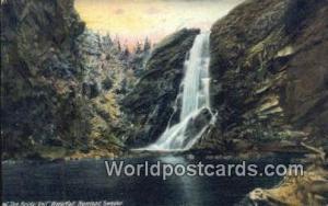 Sweden, Sverige Bridal Veil Waterfall, Norrland Bridal Veil Waterfall, Norrland