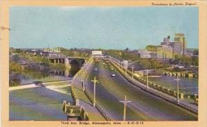 Minnesota Minneapolis Third Avenue Bridge Dexter Press