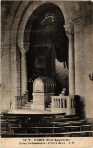 CPA PARIS 20e Four Crematoire - L'Interieur (254788)