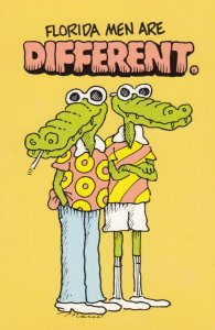 FLORIDA Men are different , 1960-80s