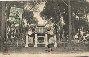 CPA Vietnam Indochine TONKIN Sontay - Pagode des Mandarins (60352)