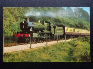 Gwr 4 6 0 Lydham Manoir Dart Valley Chemin de Fer Locomotive No.7827 Dartmouth
