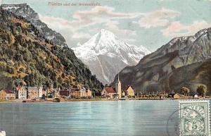 Switzerland Fluelen und der Bristenstock AK