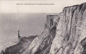 Beachy Head & Lighthouse, Eastbourne (Sussex), England, UK, 1900-1910s