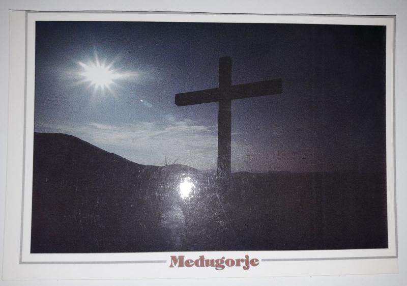 Medugorje, Bosnia and Herzegovina, View of the cross