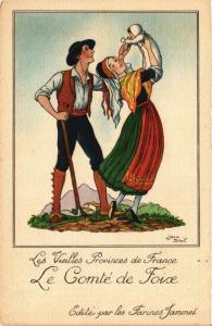 CPA Le Comté de Foise Les Vieilles Provinces de France FRANCE FOLKLORE (788962)
