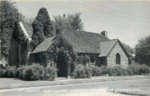 Excelsior Springs Missouri~St Lukes Episcopal Church~1950 Postcard RPPC
