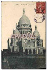 Postcard Old Paris Basilique du Sacre Coeur