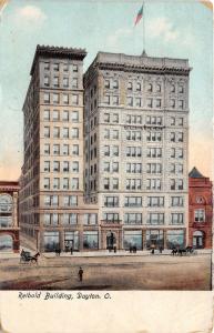 Dayton Ohio~Reibold Building (Elder&Johnston Dept store)~1912 Illustrated Pc