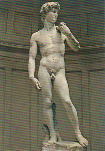 Italy Firenze Galleria Accademia Il David di Michelangelo