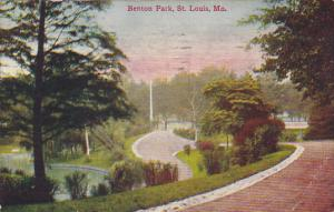 Missouri Saint Louis Benton Park 1909