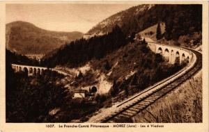 CPA MOREZ les 4 Viaducs (247533)