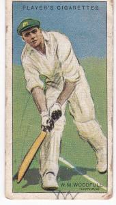 Cigarette Cards Player's Cricketers 1930 No 48 - W M Woodfull