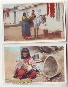 P182 JLs old postcard native amerians arizona unused nice