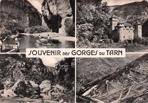 France Souvenir des Gorges du Tarn multiviews Castle Road General view