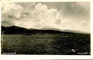 Trinidad - Port of Spain, 1936.  *RPPC  (damaged)