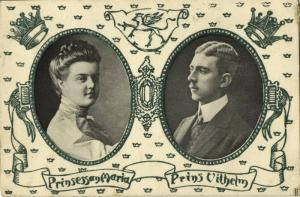 Prince Wilhelm of Sweden, Grand Duchess Maria Pavlovna of Russia of Södermanland
