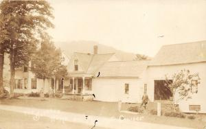 Plymouth Vermont~Boyhood Home of President Coolidge~Men & Lady Posing~c1930 RPPC