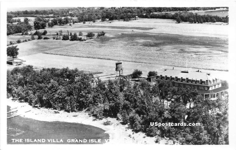 Island Villa Grand Isle VT Unused