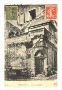 Périgueux , France, Maison fortifiee, PU-1920
