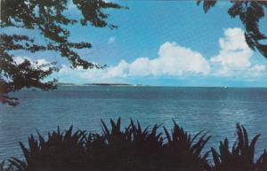 Cocos Island seen from Merizo , GUAM , 50-60s