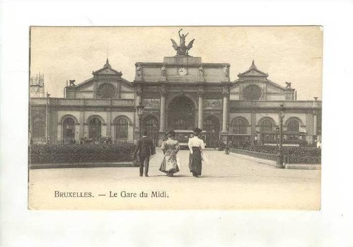 Bruxelles.- Le gare du Midi, Belgium, 00-10s
