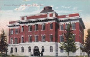 Wisconsin Chilton Calumet County Court House 1915