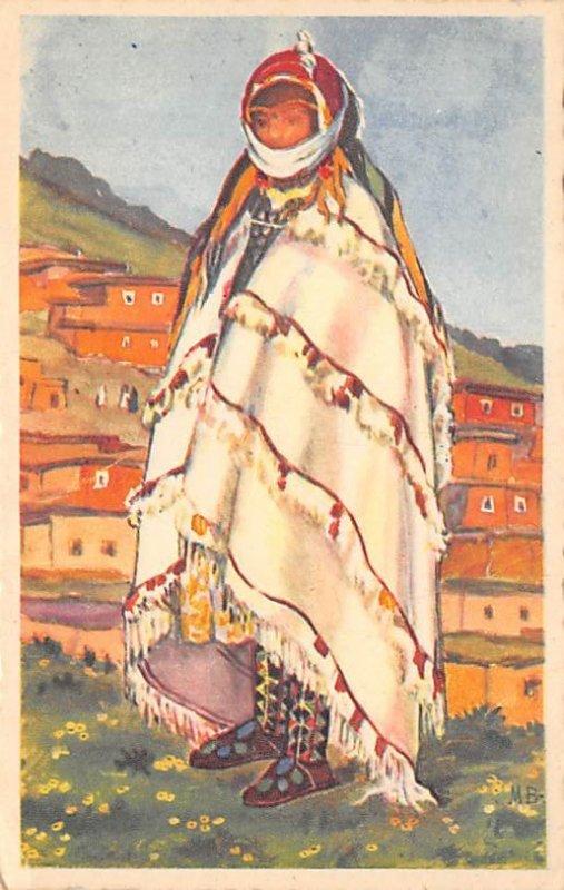 Native Costume Post Card American Indian USA Unused