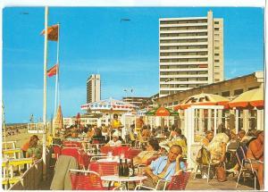 Holland, Netherlands, Zandvoort, Strand, 1976 used Postcard