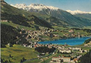 St. Moritz-Bad und Dorf 1800 m., Grisons, Switzerland, 50-70s