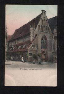 069683 GERMANY Nurnberg Bratwurstglocklein Vintage BEER PUB