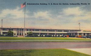 Admin Bldg View #2 , US Naval Air Station , JACKSONVILLE , Florida , 30-40s