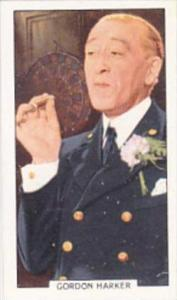 Gallaher Cigarette Card Portraits Famous Stars No 21 Gordon Harker