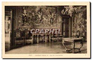 Pau - Castle Henri IV - Salon d & # 39Attente - Old Postcard