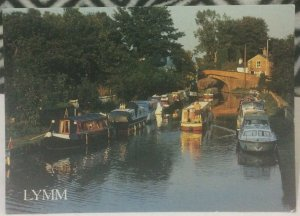 England Lymm Cheshire Bridgewater Canal - posted 1995