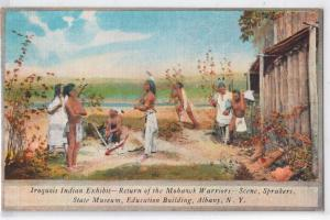 Albany NY, Iroquois Indian Exhibit