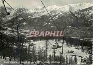 Postcard Modern Sportinia Sauze d'Oulx 2170 m Veduta Generale