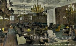 English Room, Fort Pitt Hotel - Pittsburgh, Pennsylvania