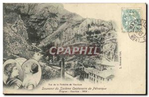 Old Postcard Remembrance sixth centenary of Petrarch Avignon Vaucluse 1904