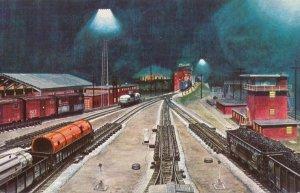 Youngstown, Ohio - Pittsburgh & Lake Erie Railroad Yard - Howard Fogg Painting