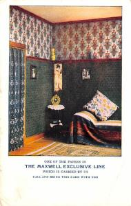 Maxwell Exclusive Line Advertising 1908